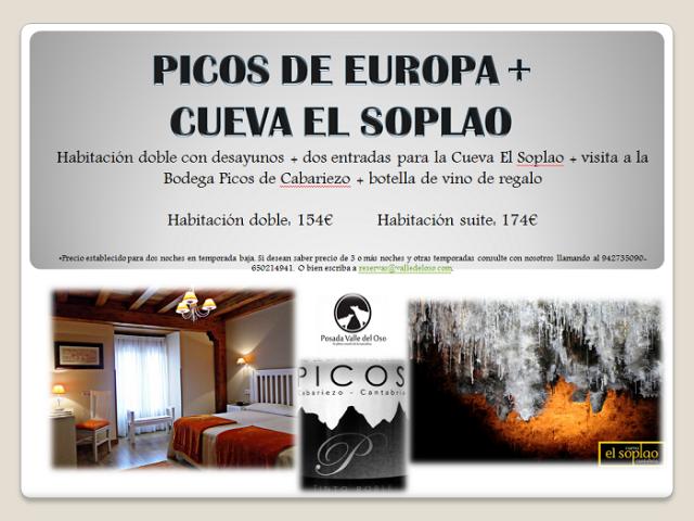 Picos de Europa + Cuevas de El Soplao